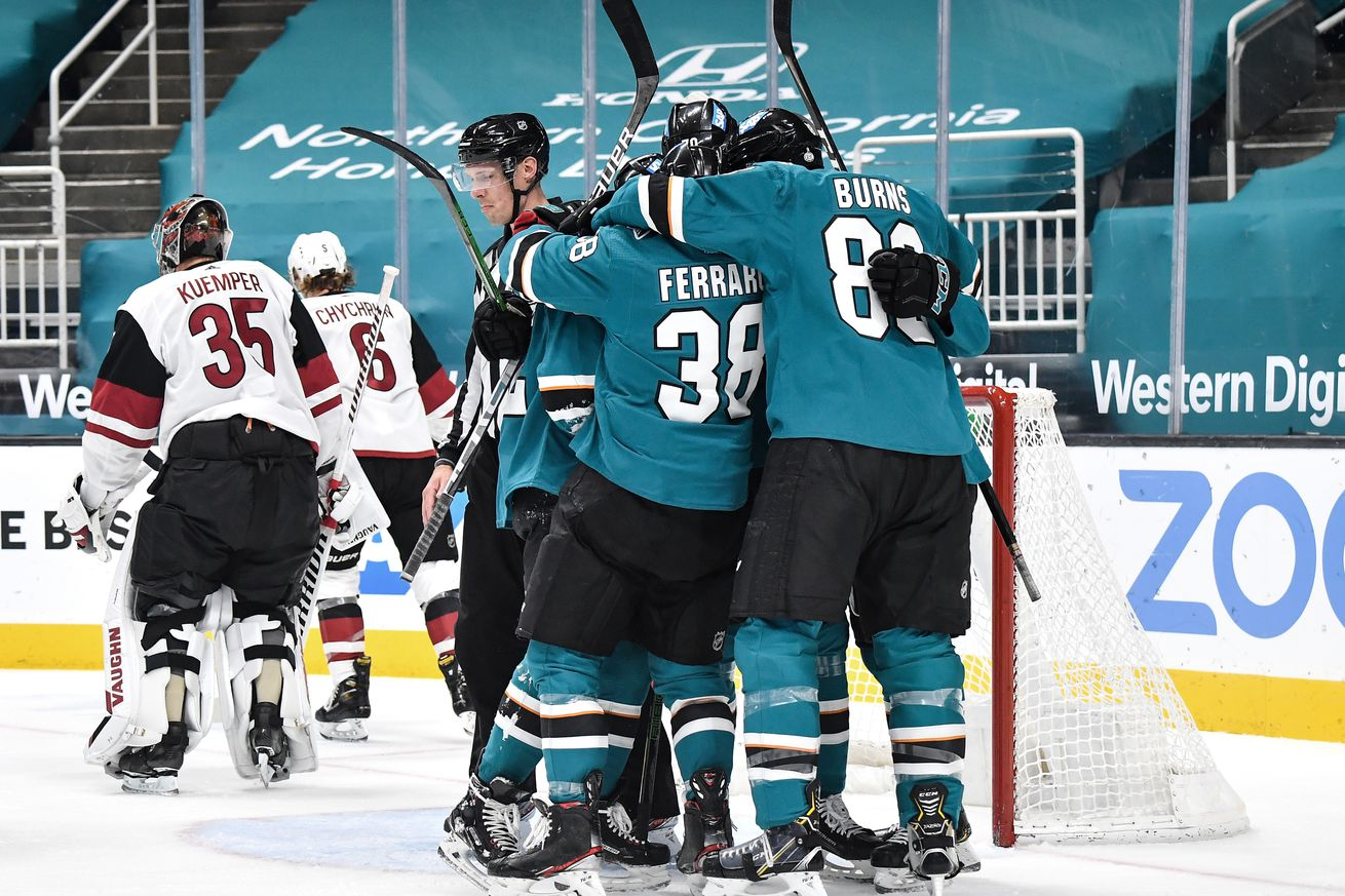 Arizona Coyotes v San Jose Sharks