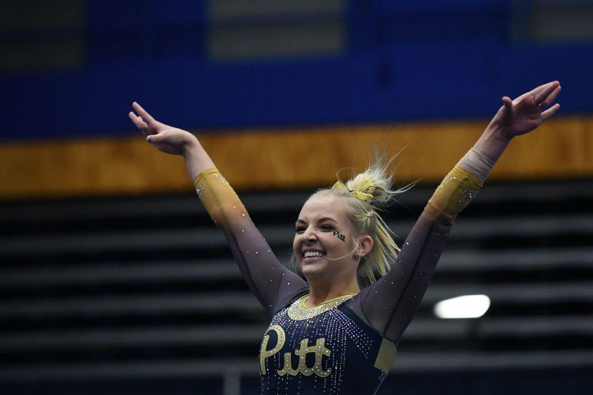 Pitt Gymnastics Quad Meet Photo Gallery