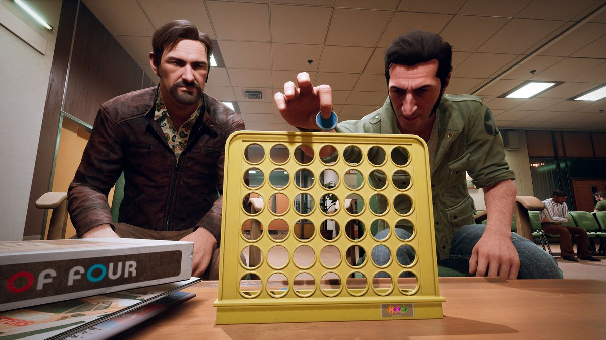 A Way Out - Leo and Vincent Player Connect Four
