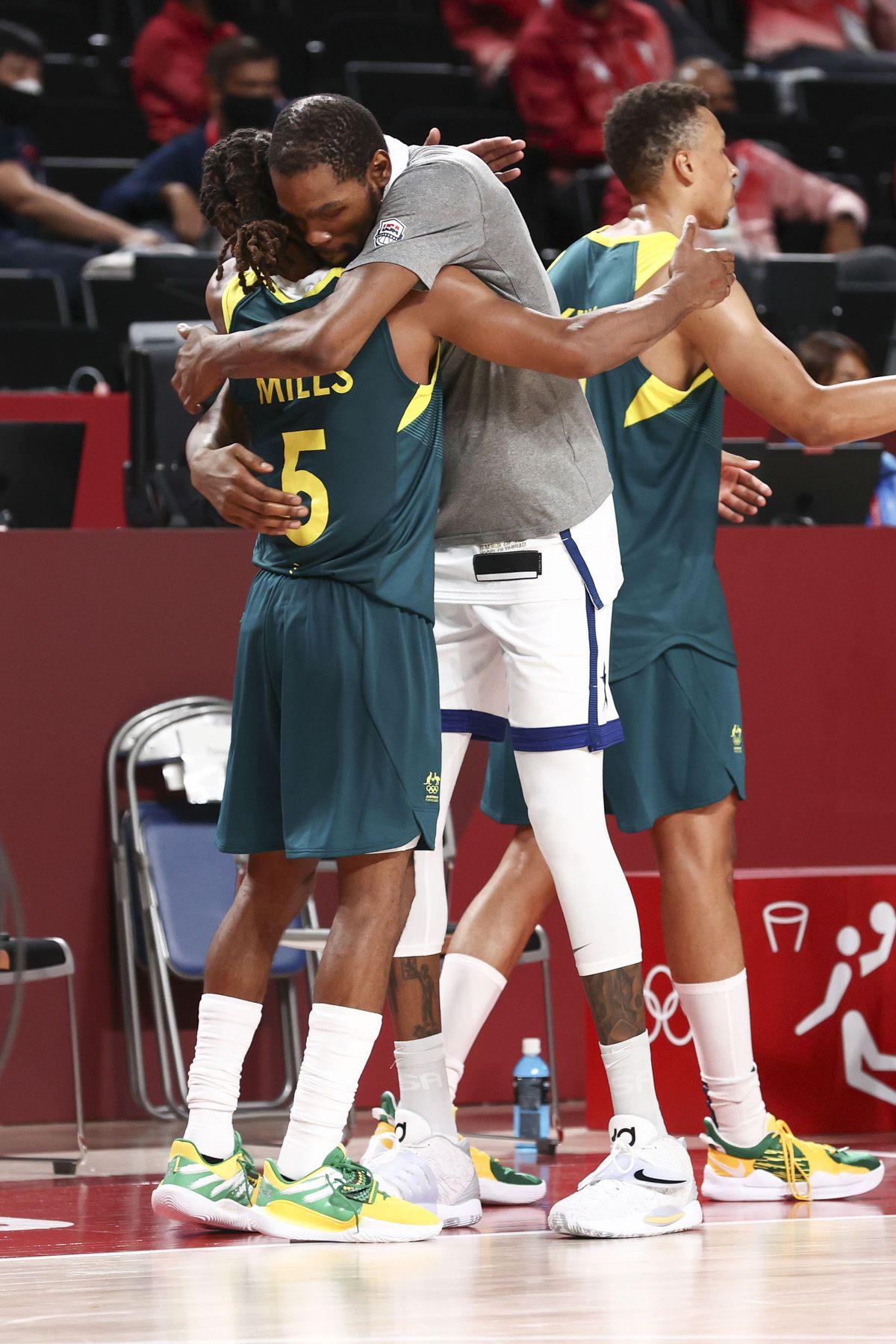 2020 Tokyo Olympics: United States v Australia