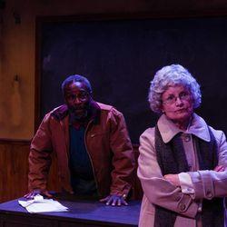 "Glenn Turner plays ""Bo"" and Jayne Luke portrays Mrs. Wright in ""How to Make a Rope Swing."""