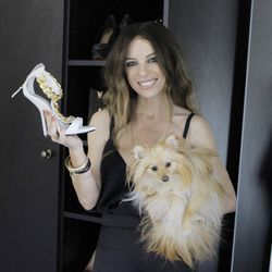 """Giuseppe Zanotti gold link chain sandals, $995. """"Aren't these just amazing? Do you get as excited about shoes as I do? I mean, they're like little pieces of art."""""""