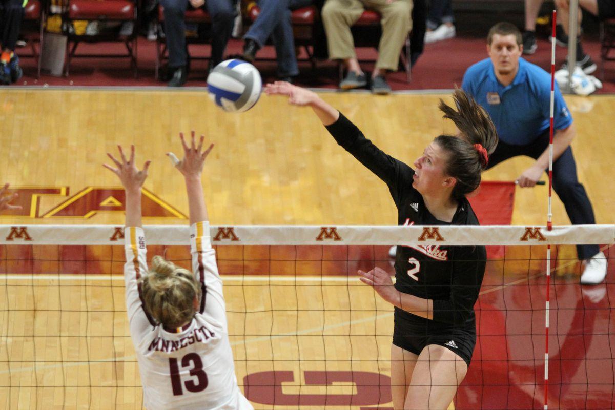 Nebraska Volleyball: #9 Huskers fall to #6 Illinois - Corn ...