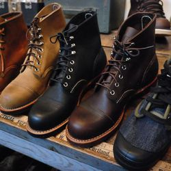 Men's Red Wing boots and more