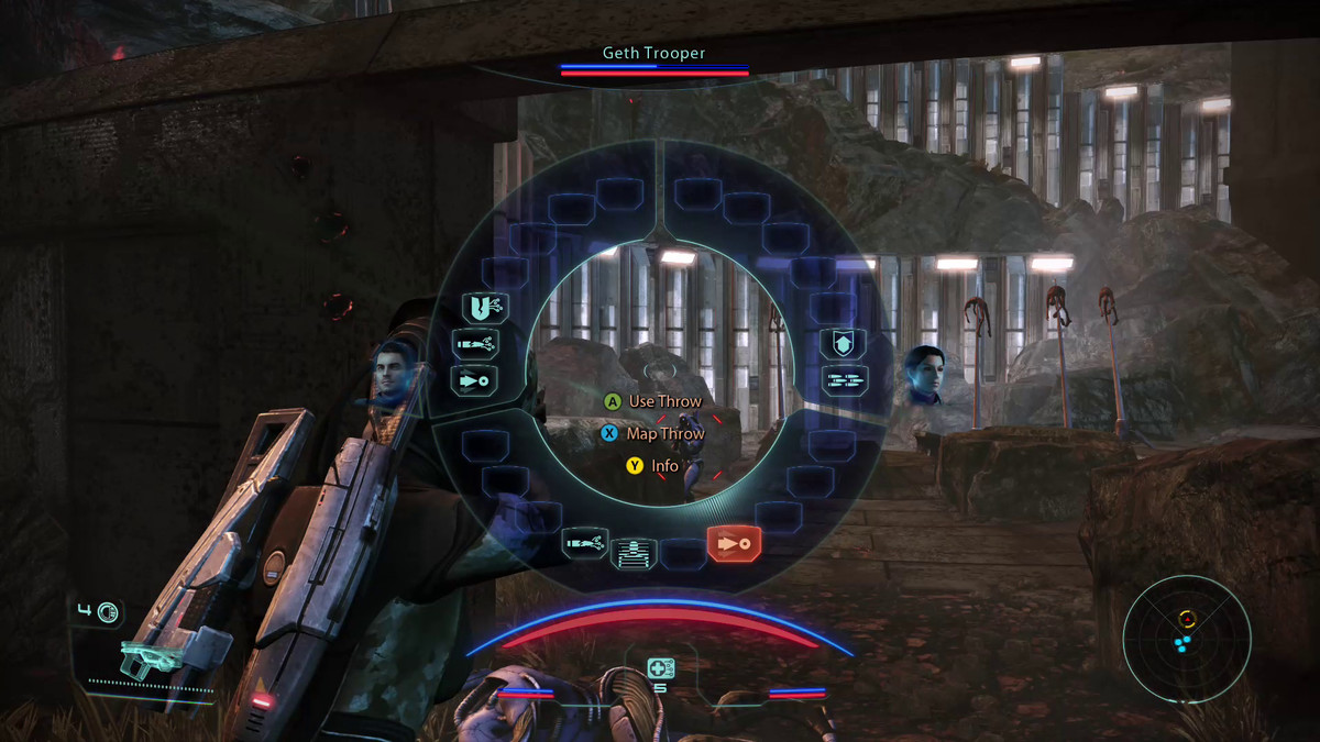 Mass Effect power wheel