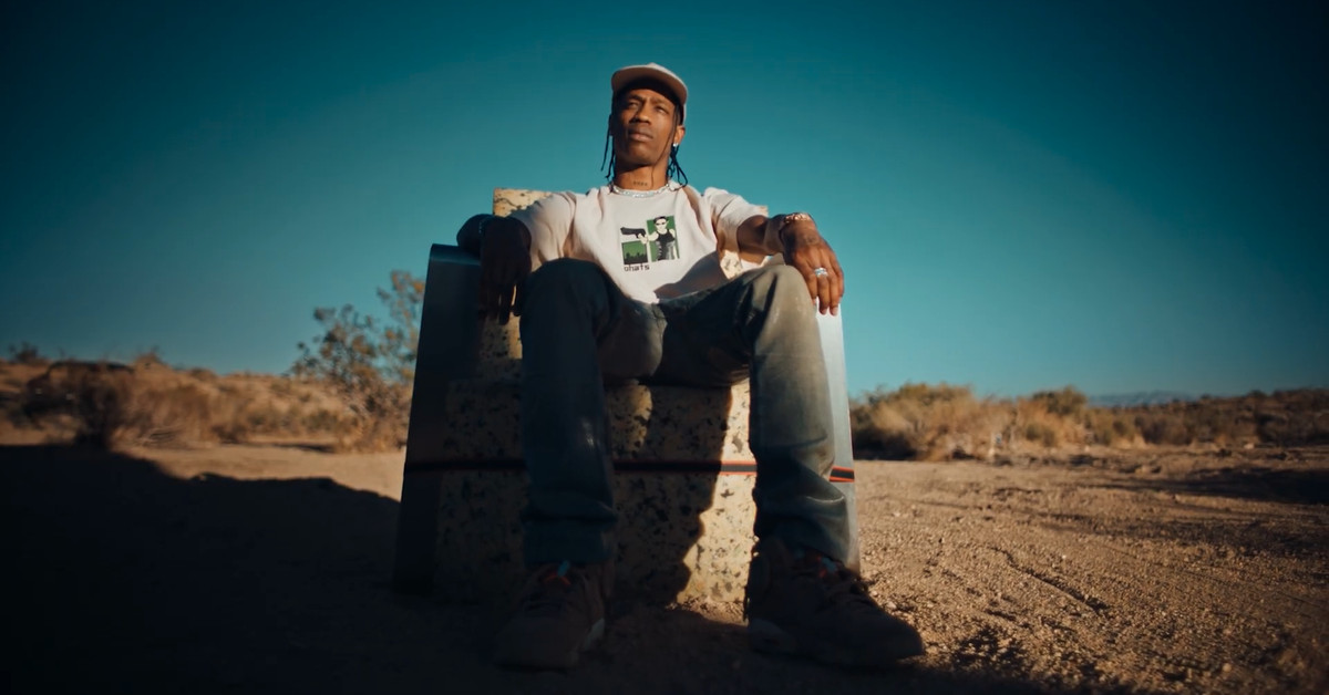 Travis Scott's PS5 'unboxing' is a strangely cool short movie – The Verge