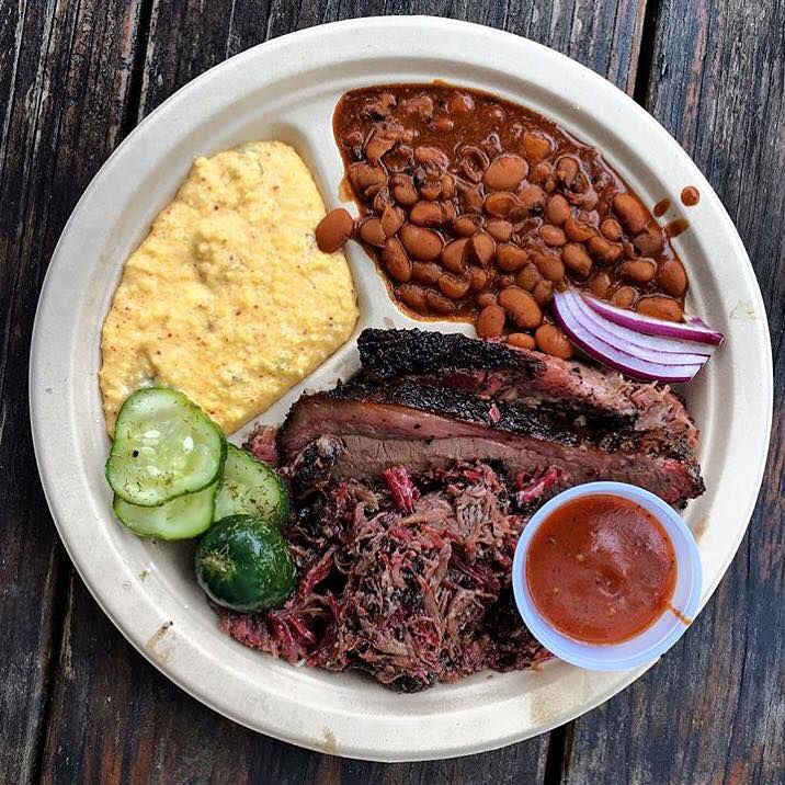 Barbecue plate from Micklethwait