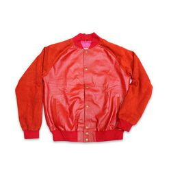 Called the Bomber jacket, it's reminiscent of old school aviation duds