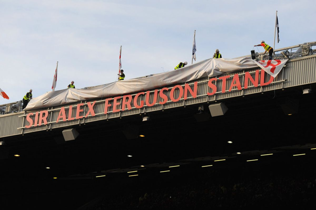 Old Trafford-- where Newcastle United points go to die.