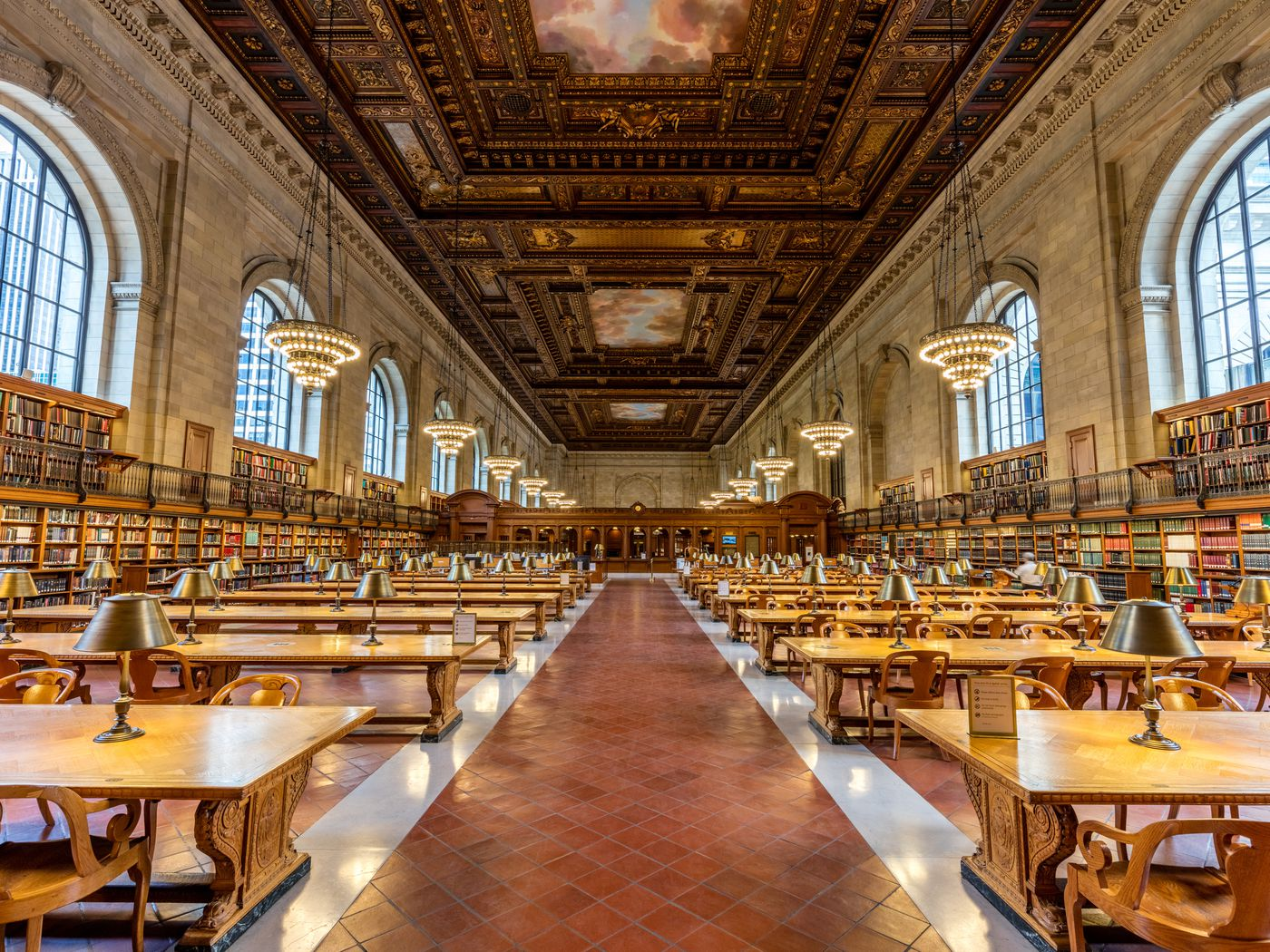 NYPL's Rose Main Reading Room is ever so close to being landmarked - Curbed NY