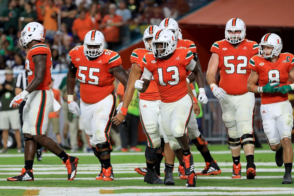 brand new 5d9a7 ec35c The Good, The Bad and The Ugly – Miami Football's Uniforms ...
