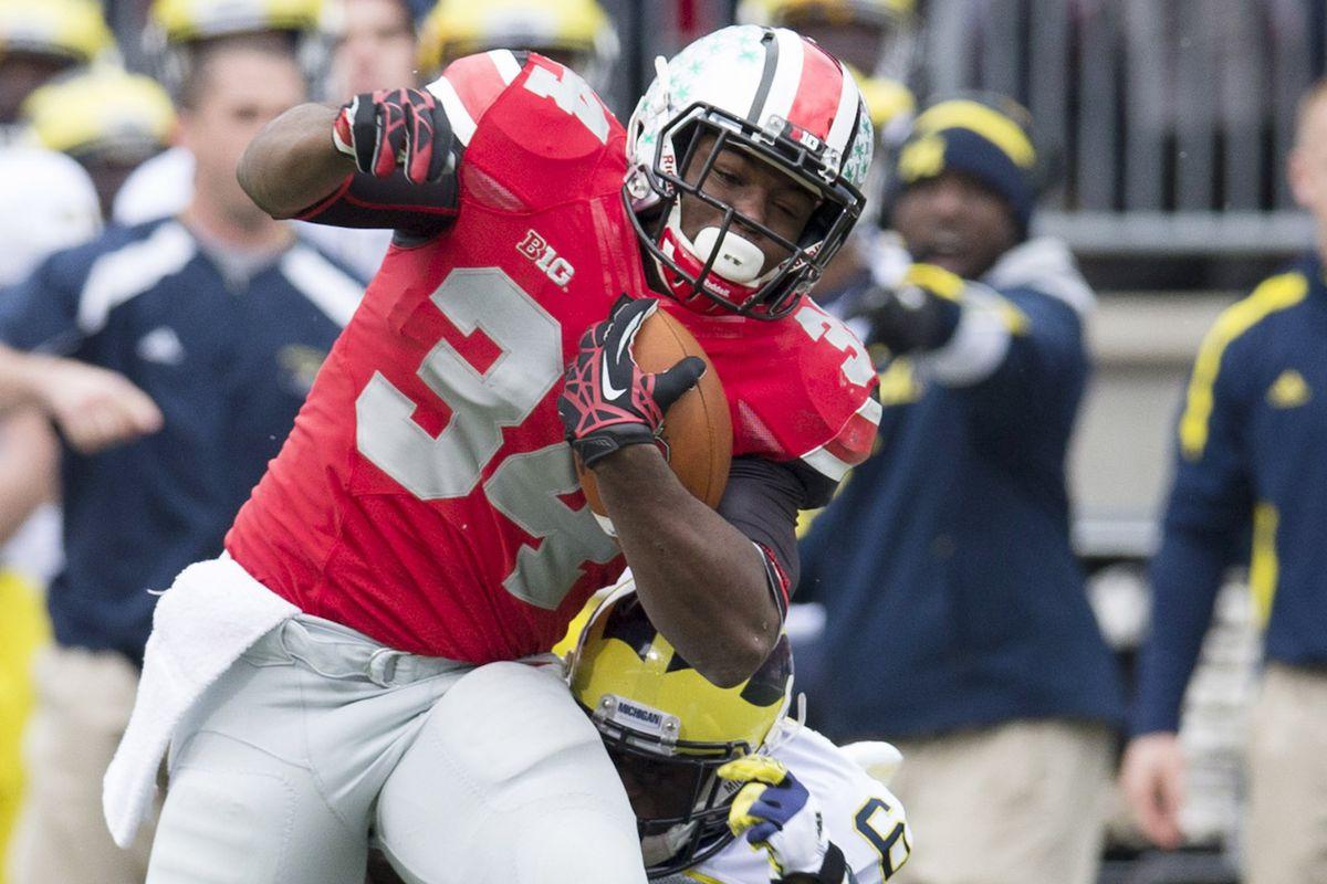 Will Carlos Hyde run for the Buckeyes or an NFL team in 2013?