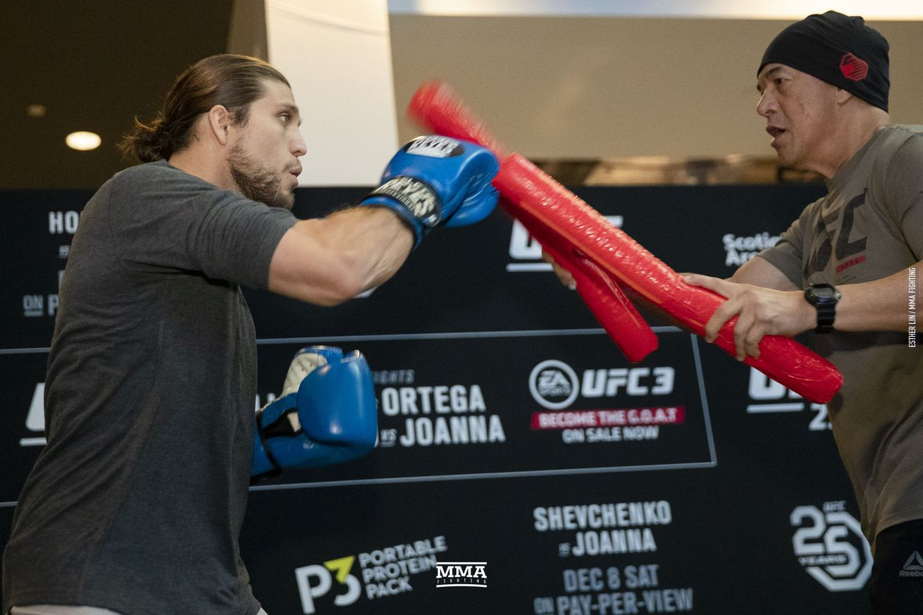 Brian Ortega will fight for the UFC featherweight title at the UFC 231 main event.