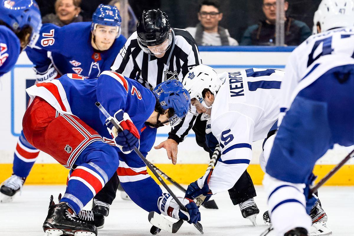 NHL: DEC 20 Maple Leafs at Rangers