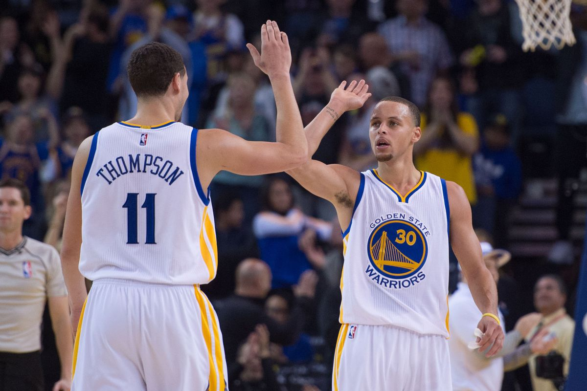 Stephen Curry and Klay Thompson have been brilliant this season.