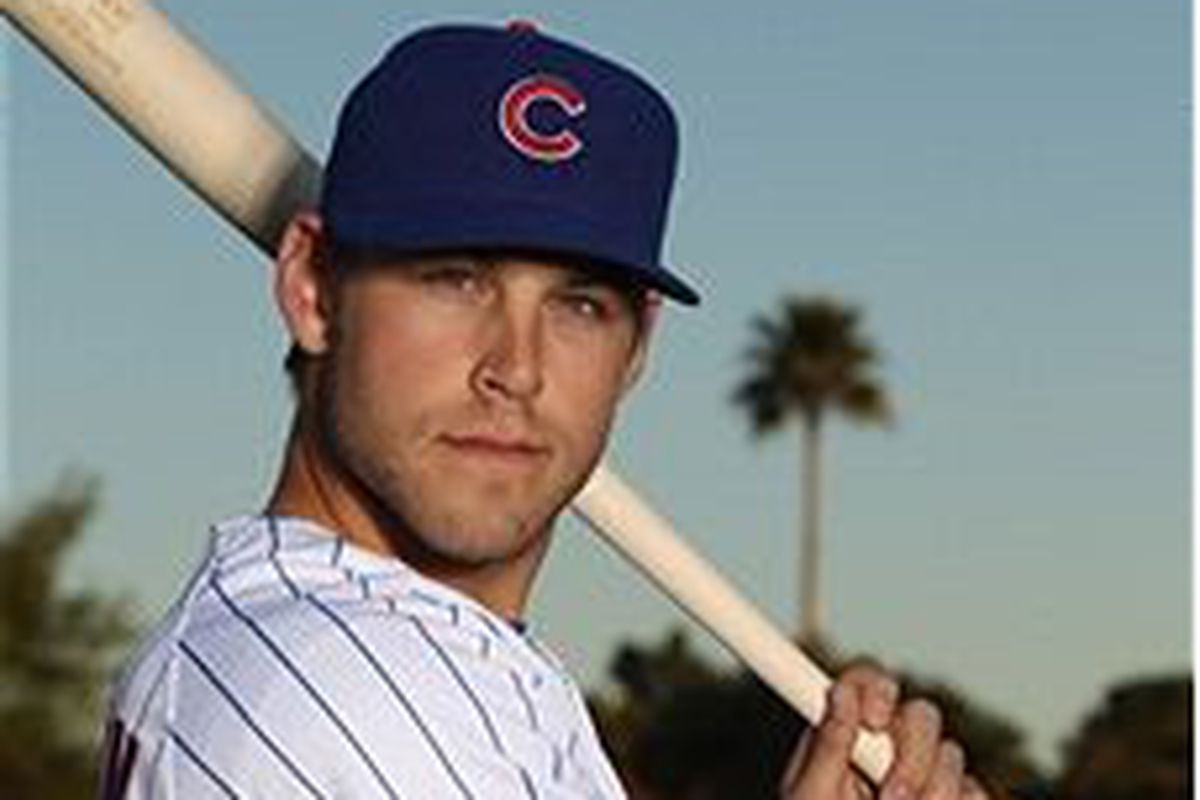 Chicago Cubs outfield prospect Brett Jackson (Photo by Ezra Shaw, Getty Images)