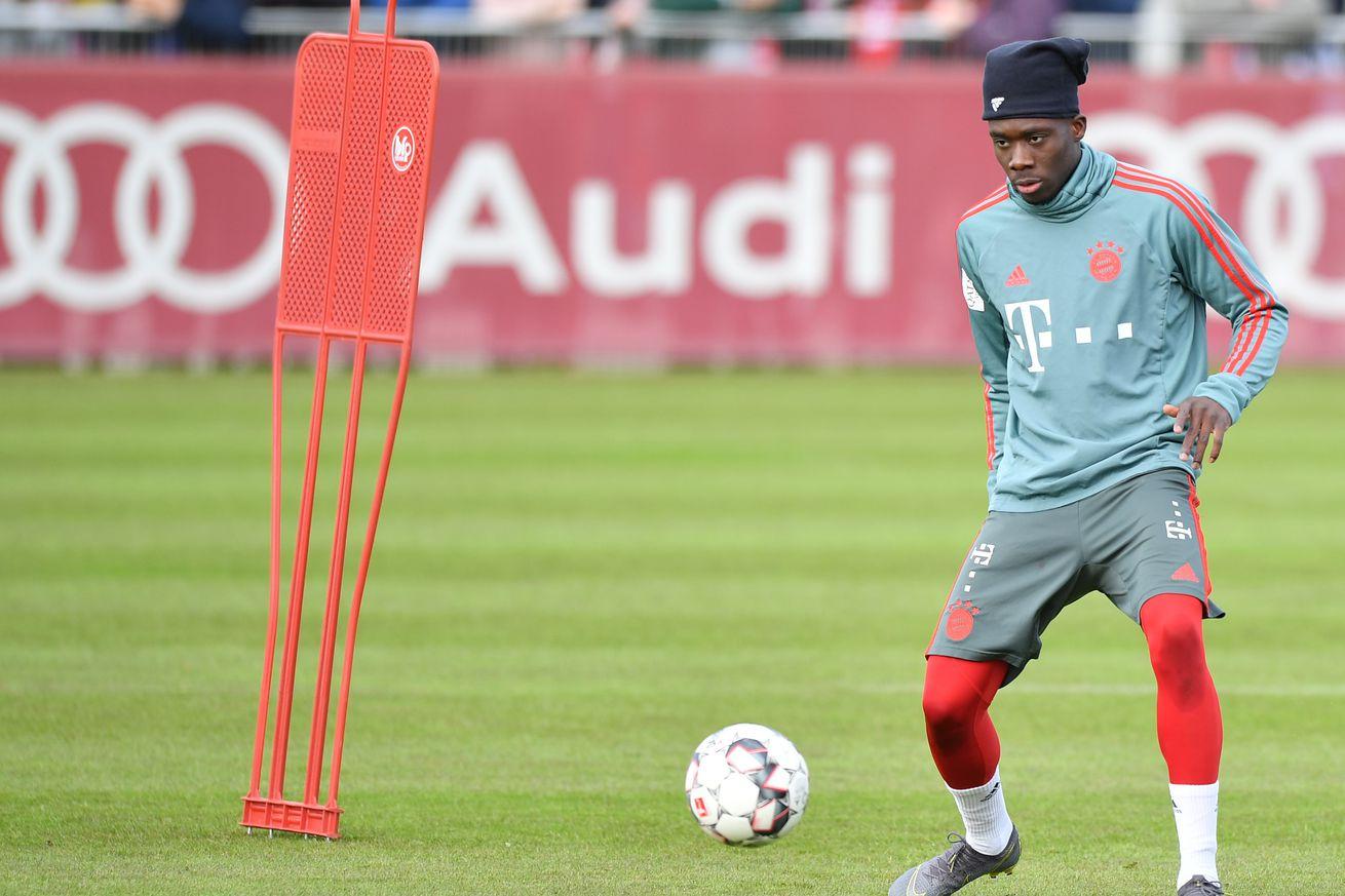 Breaking: Alphonso Davies starts for Bayern Munich II against Rosenheim