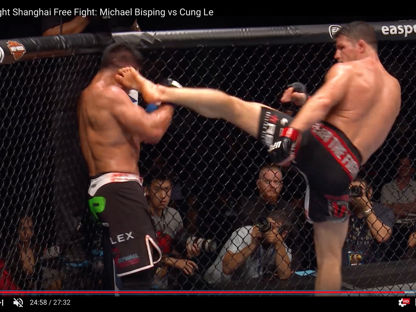 Video Michael Bisping Vs Cung Le Full Fight Video Mma Fighting