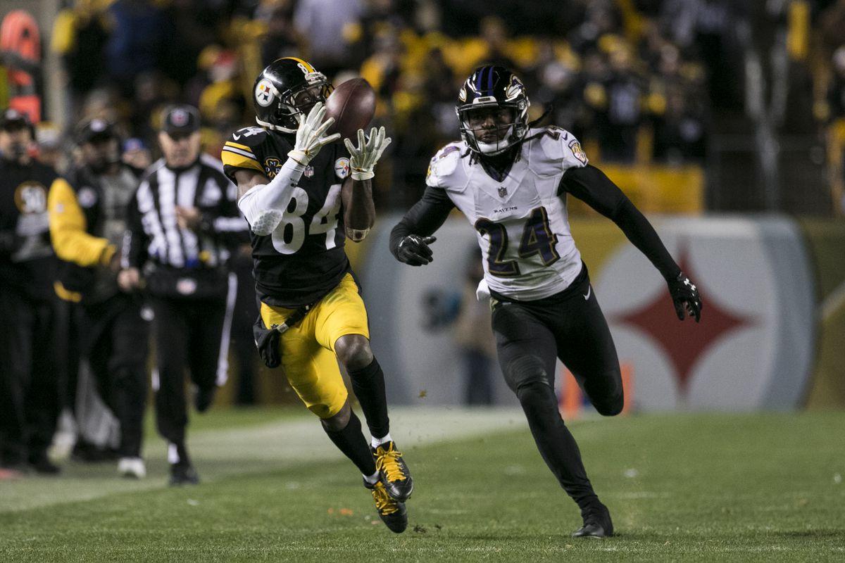NFL: DEC 10 Ravens at Steelers