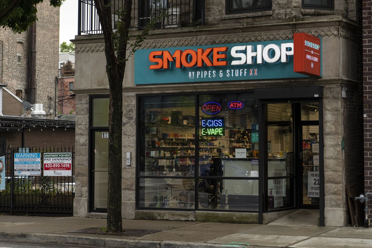 Smoke Shop, at 1333 W. Taylor St., is run by Hamd Kamal.