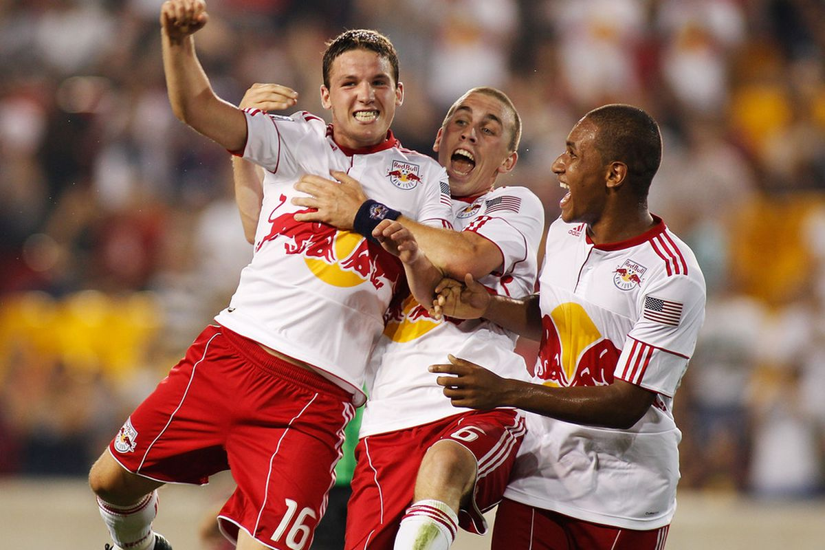 Not only is that Corey Hertzog there in the middle, but he's flanked by John Rooney and Juan Agudelo.