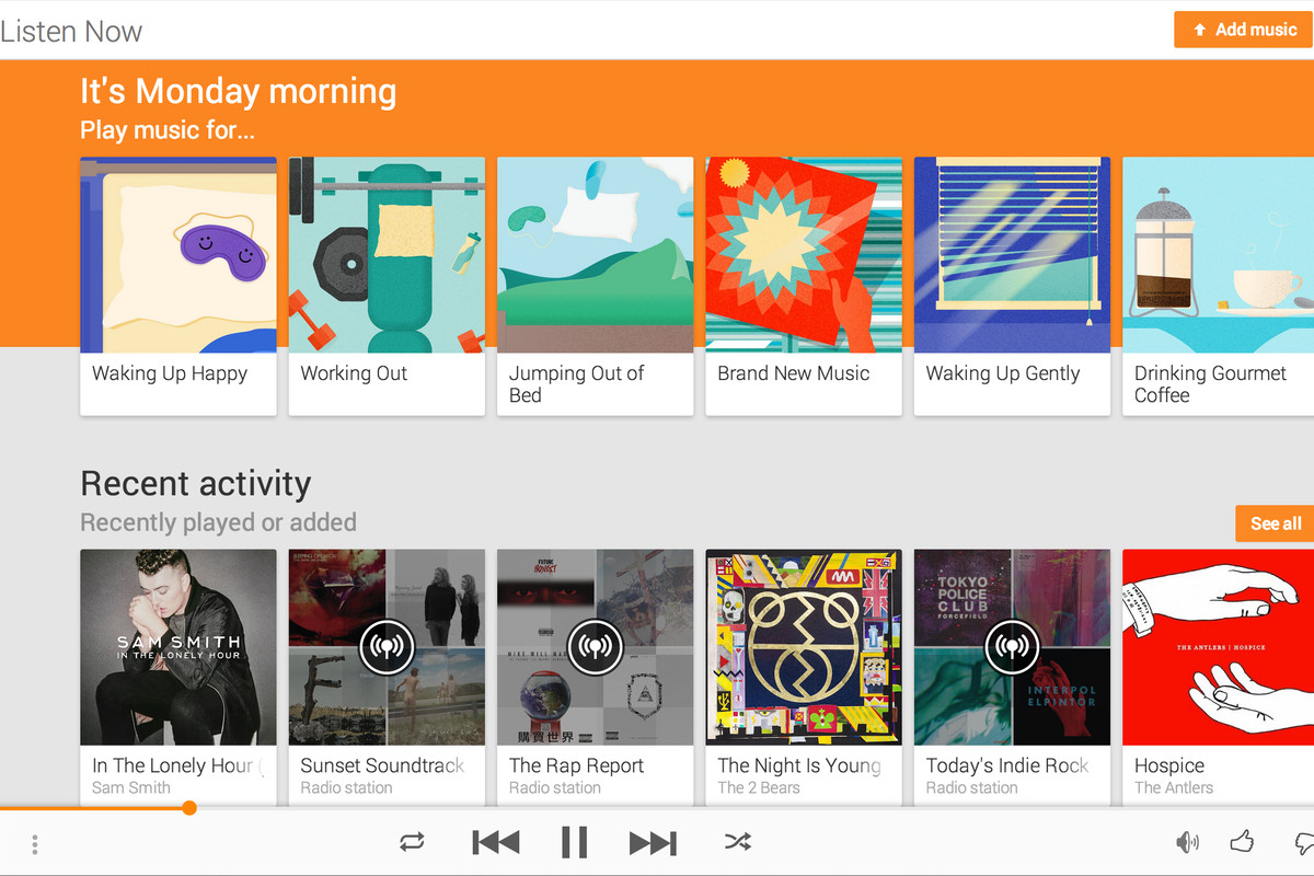 After Purchasing Songza For An Undisclosed Sum Earlier This Year Google Is Now Bringing That S Best Features To Play Music On Android Ios