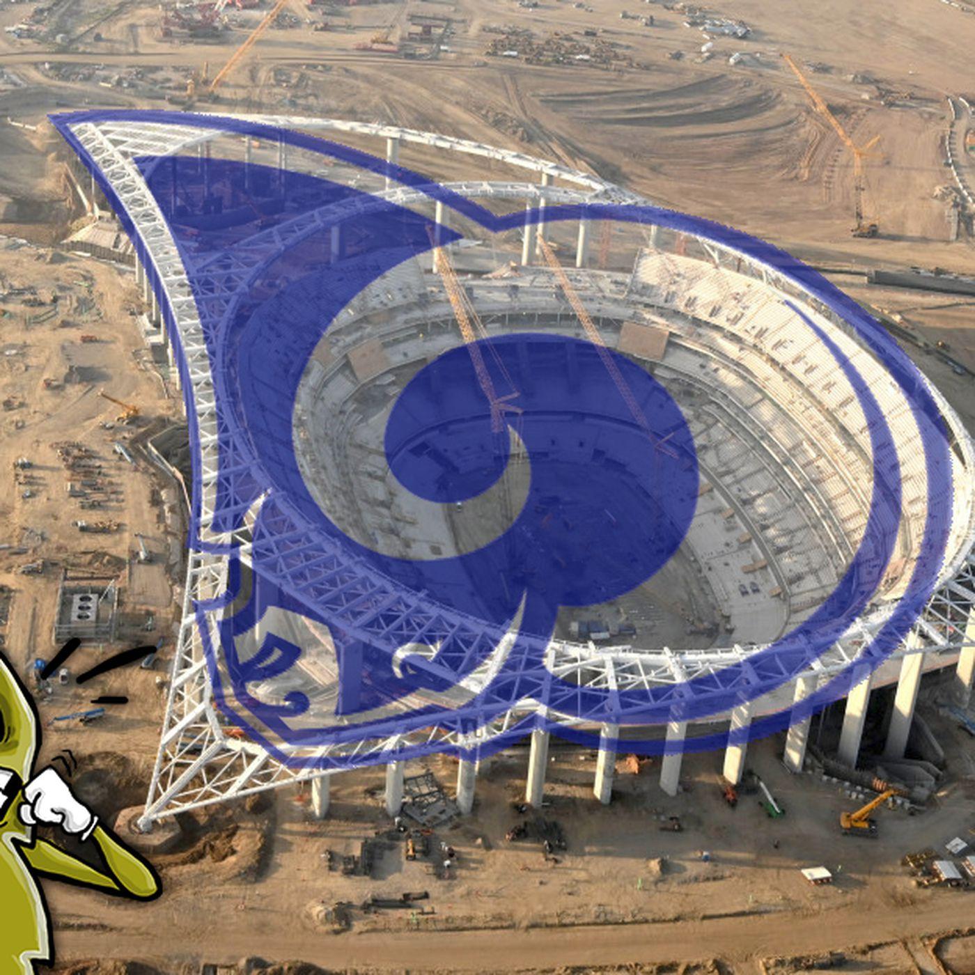 stadium talk does sofi stadium look like the rams logo bolts from the blue does sofi stadium look like the rams