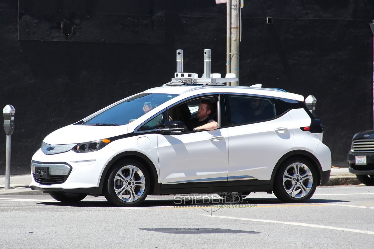 Self-driving Chevy Bolts are on the streets of San ...