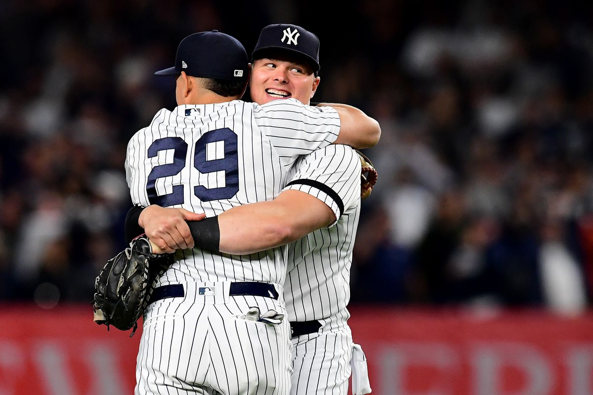 Yankees clinch division, win 100th game in rout of Angels