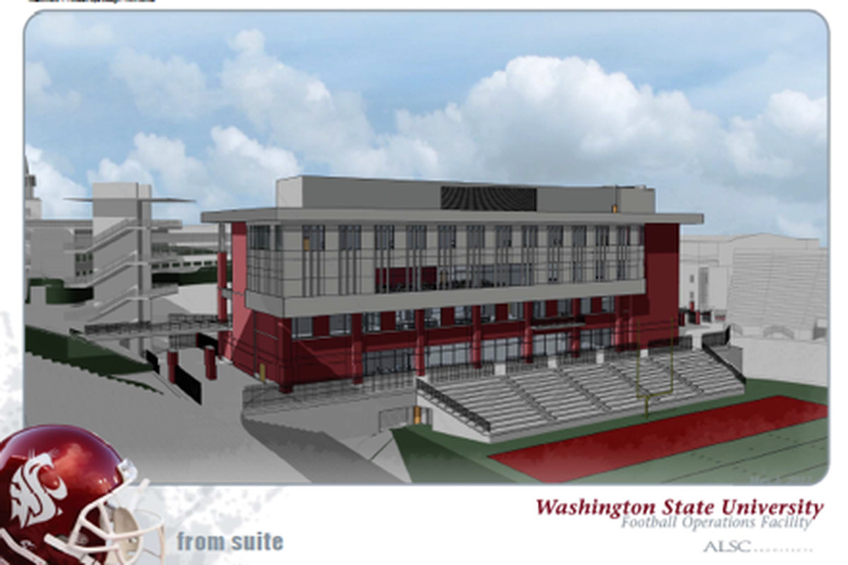 A look at the proposed football ops building