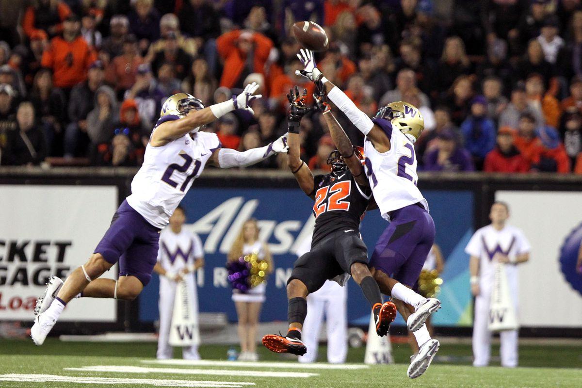 Oregon State Beavers Vs Washington Huskies Football Game Thread