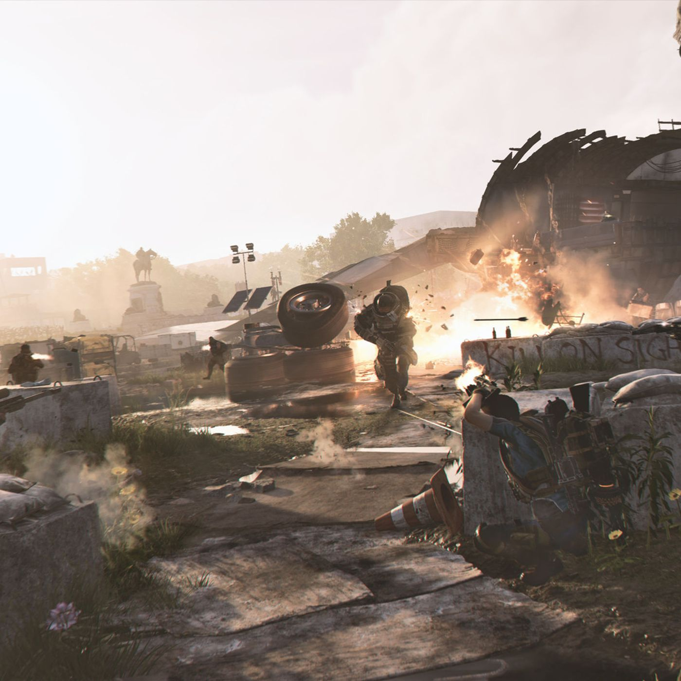 The Division 2: Get ready for some large day-one