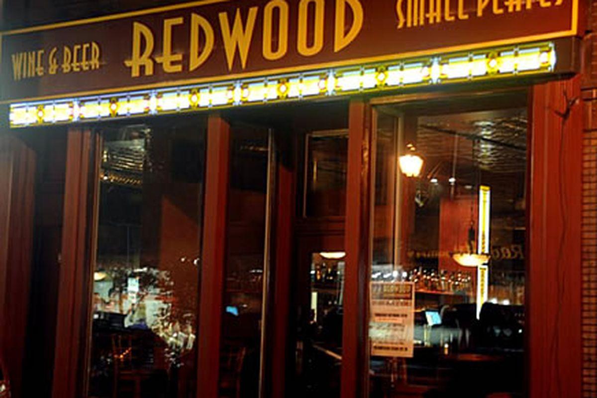 Redwood opened last night on South Street