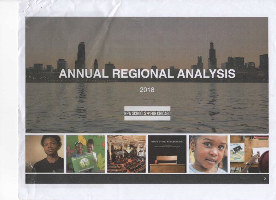 A draft page of the Annual Regional Analysis