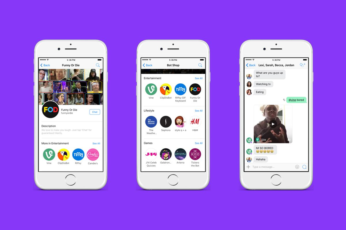 Messaging app Kik just launched a bot store - The Verge