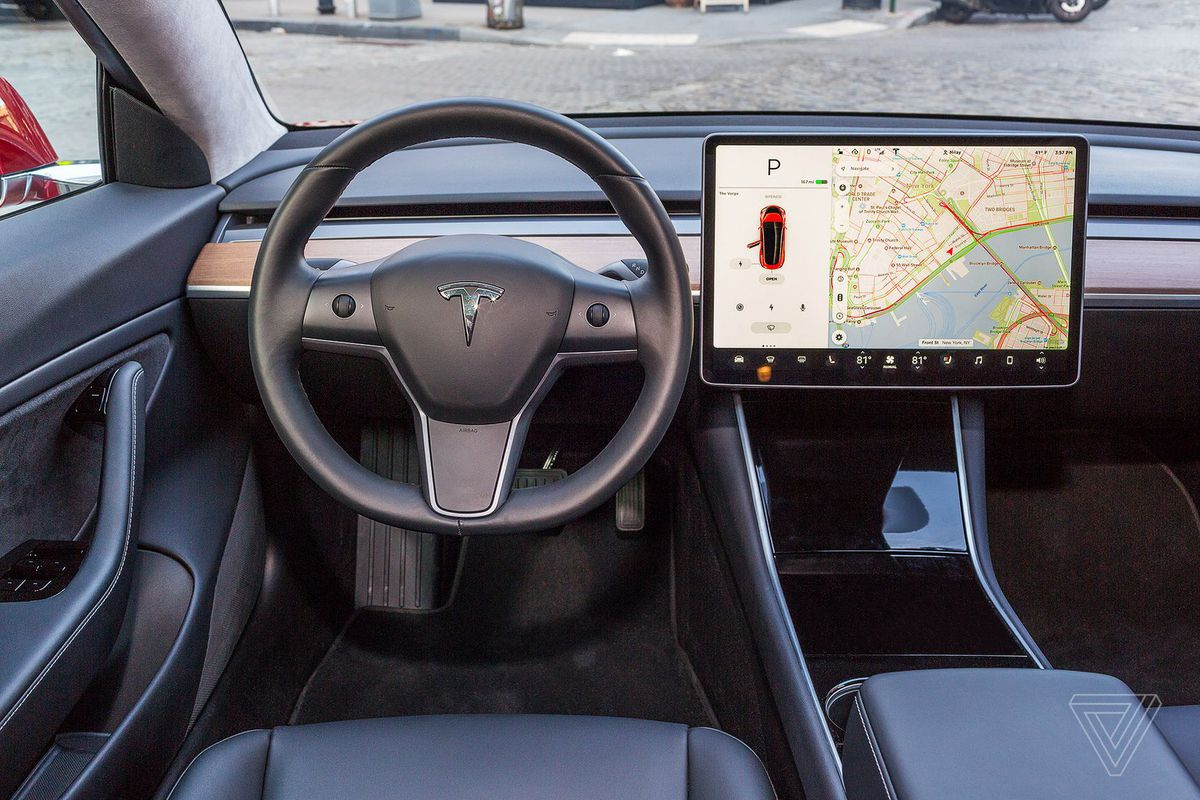 Tesla Is Adding Atari Games To The Incar Display With Next Software - Car display