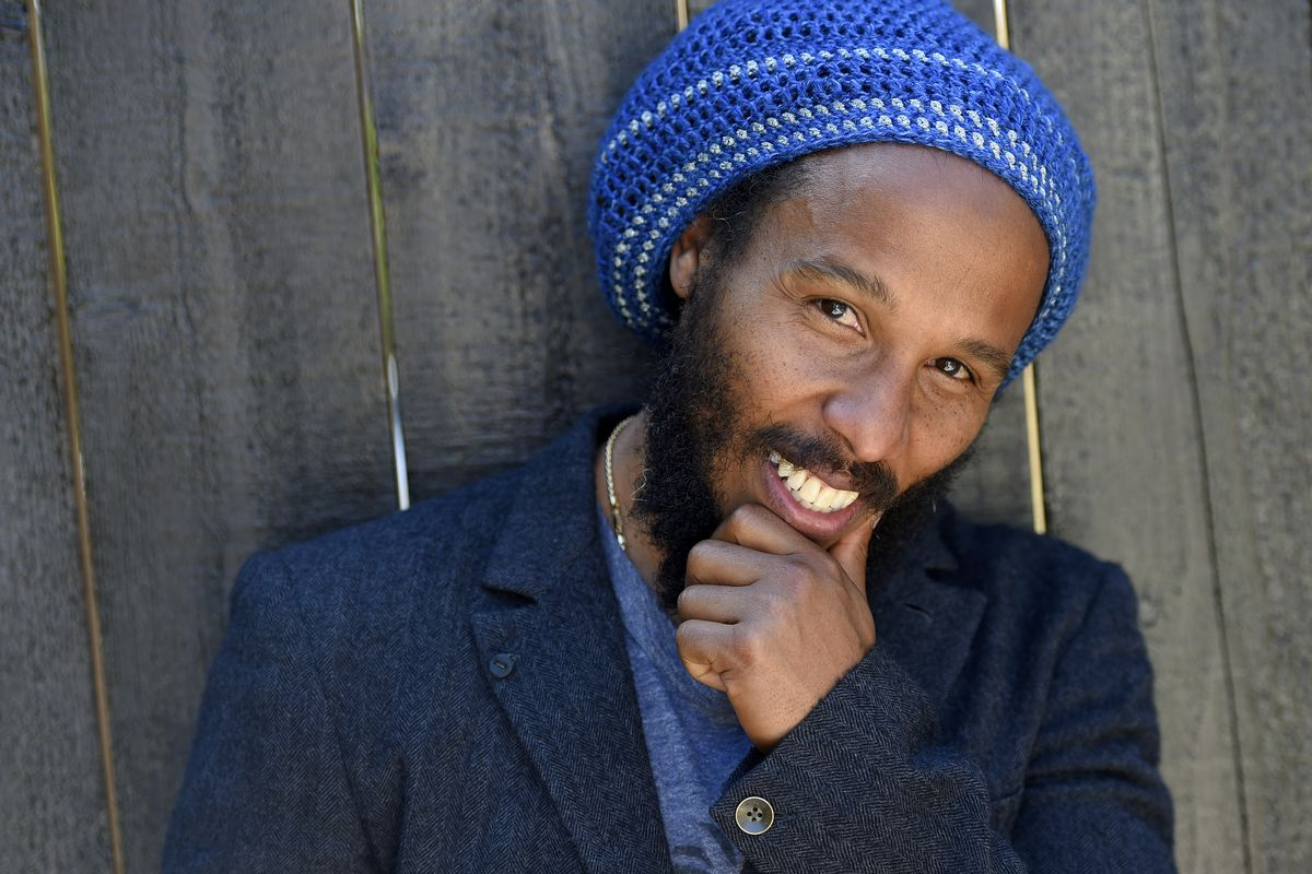 Musician Ziggy Marley poses for a portrait in Los Angeles in 2016.