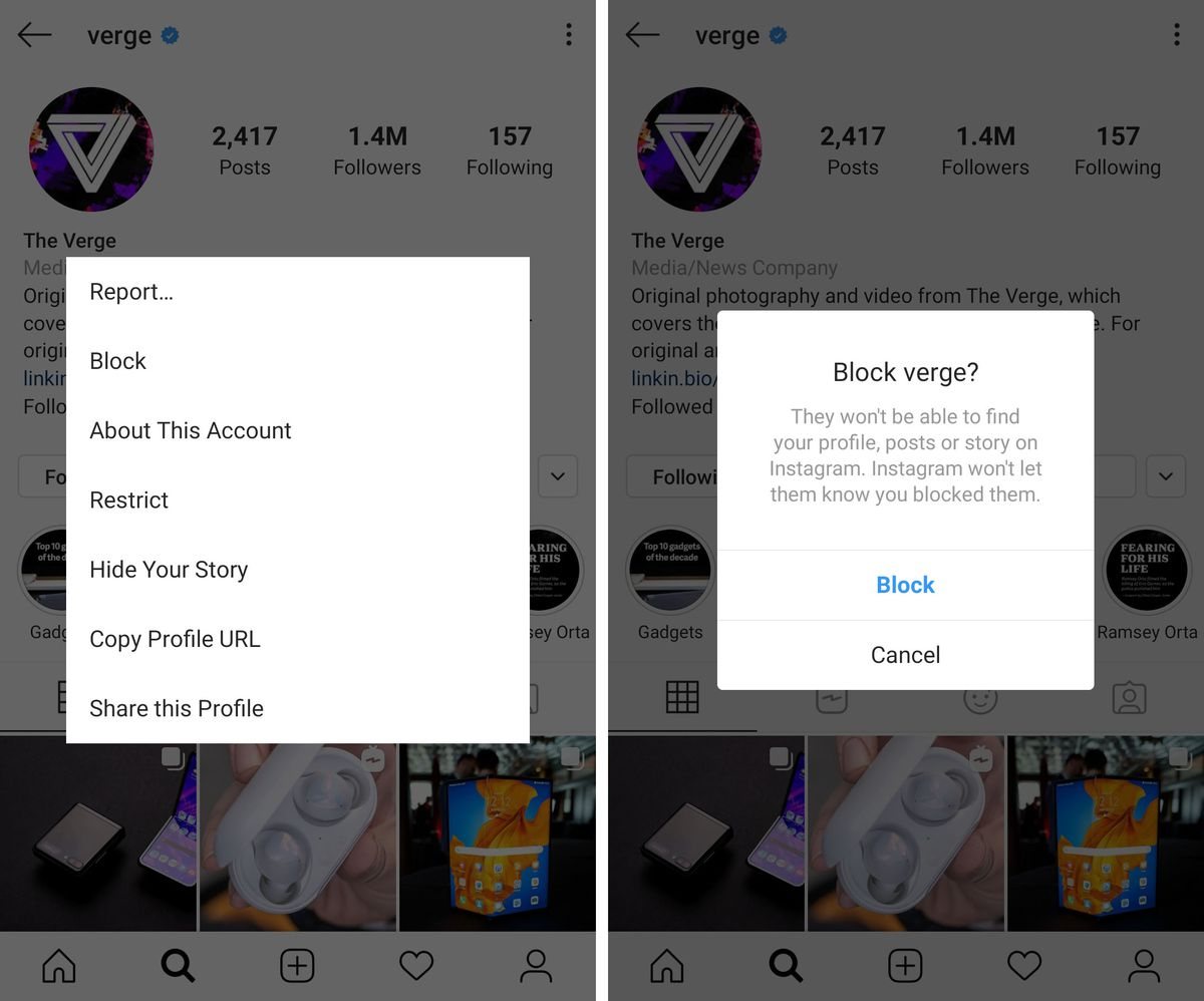 top 3 instagram private profile pictures and stories viewers How To Protect Your Privacy On Instagram The Verge