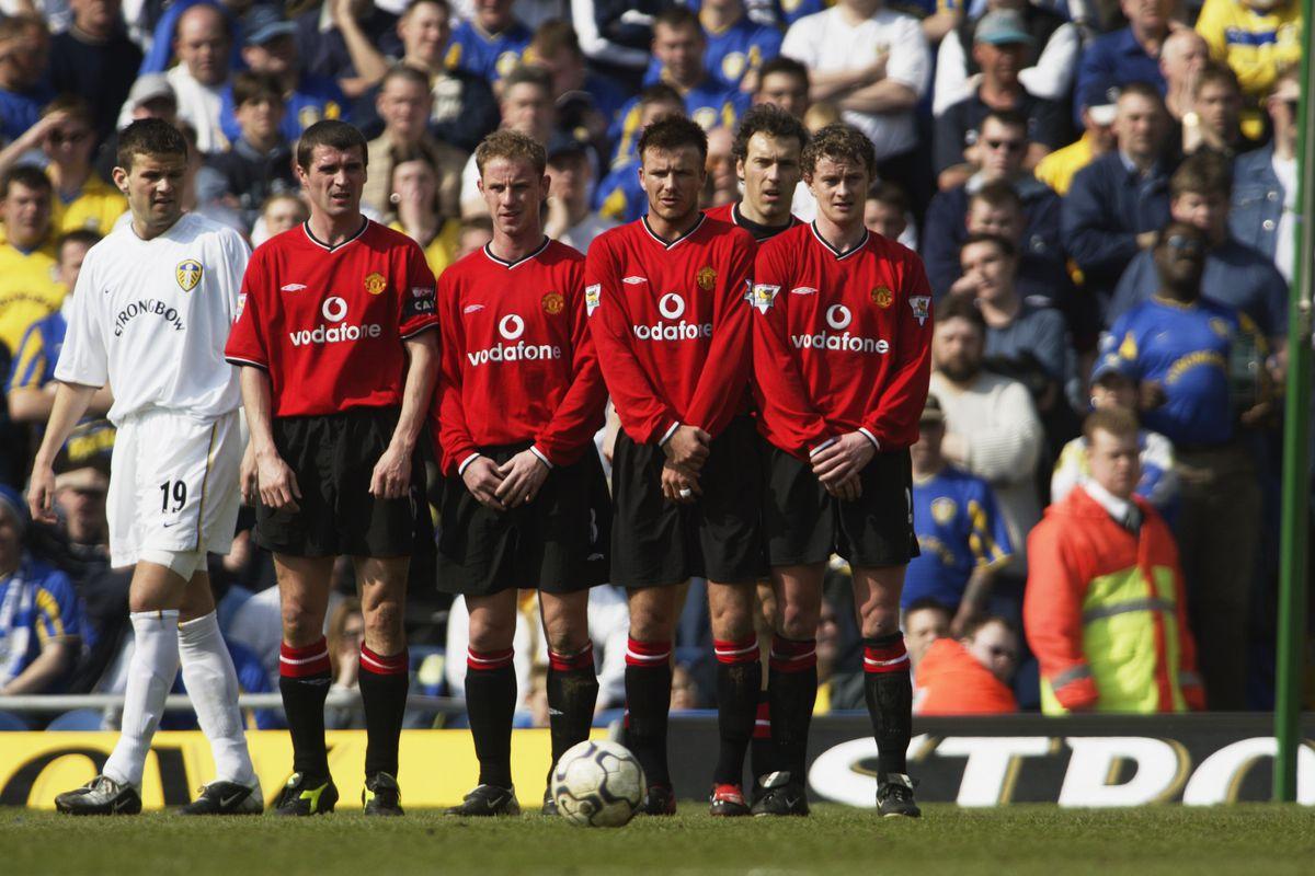 Roy Keane, Nicky Butt, David Beckham, Laurent Blanc, Ole Gunnar Solskjaer