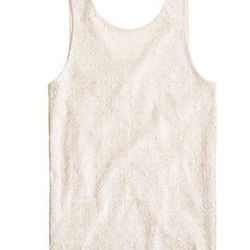 """<a href=""""http://www.jcrew.com/womens_category/shirtsandtops/sleeveless/PRDOVR~27745/99103003665/ENE~1+2+3+22+4294967294+20~~P_new_to_sale 1  P_priority 0~21+17+4294966973~90~~~~~~~/27745.jsp"""">Heathered Sequin Tank</a>, $18 (was $128)"""