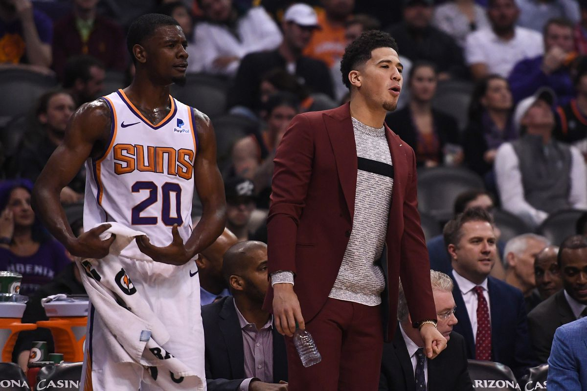 e3e3ae359ed SUNS PRACTICE REPORT  Devin Booker s return is possible tonight ...