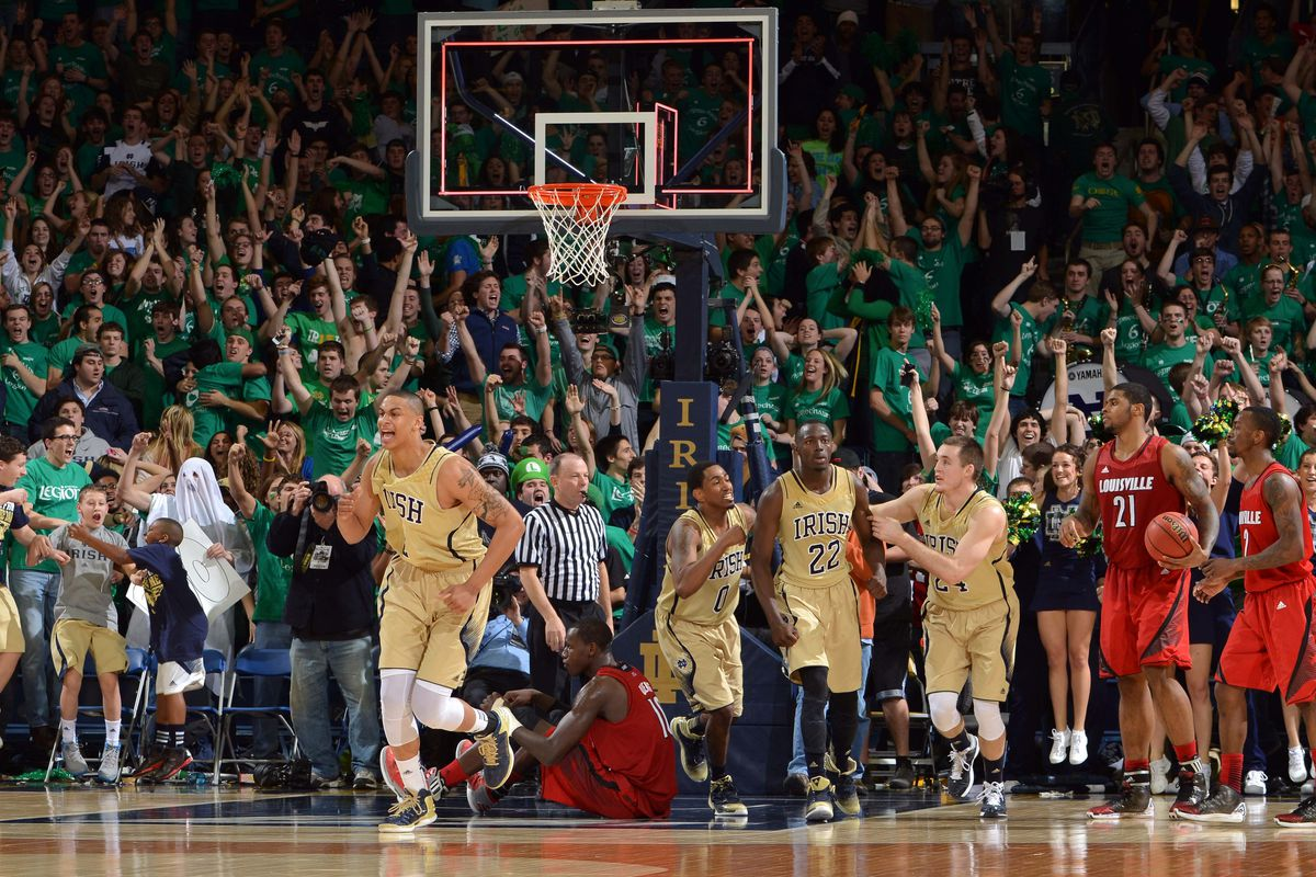 Notre Dame S 5 Ot Win Over Louisville A Microcosm For The 2012 13