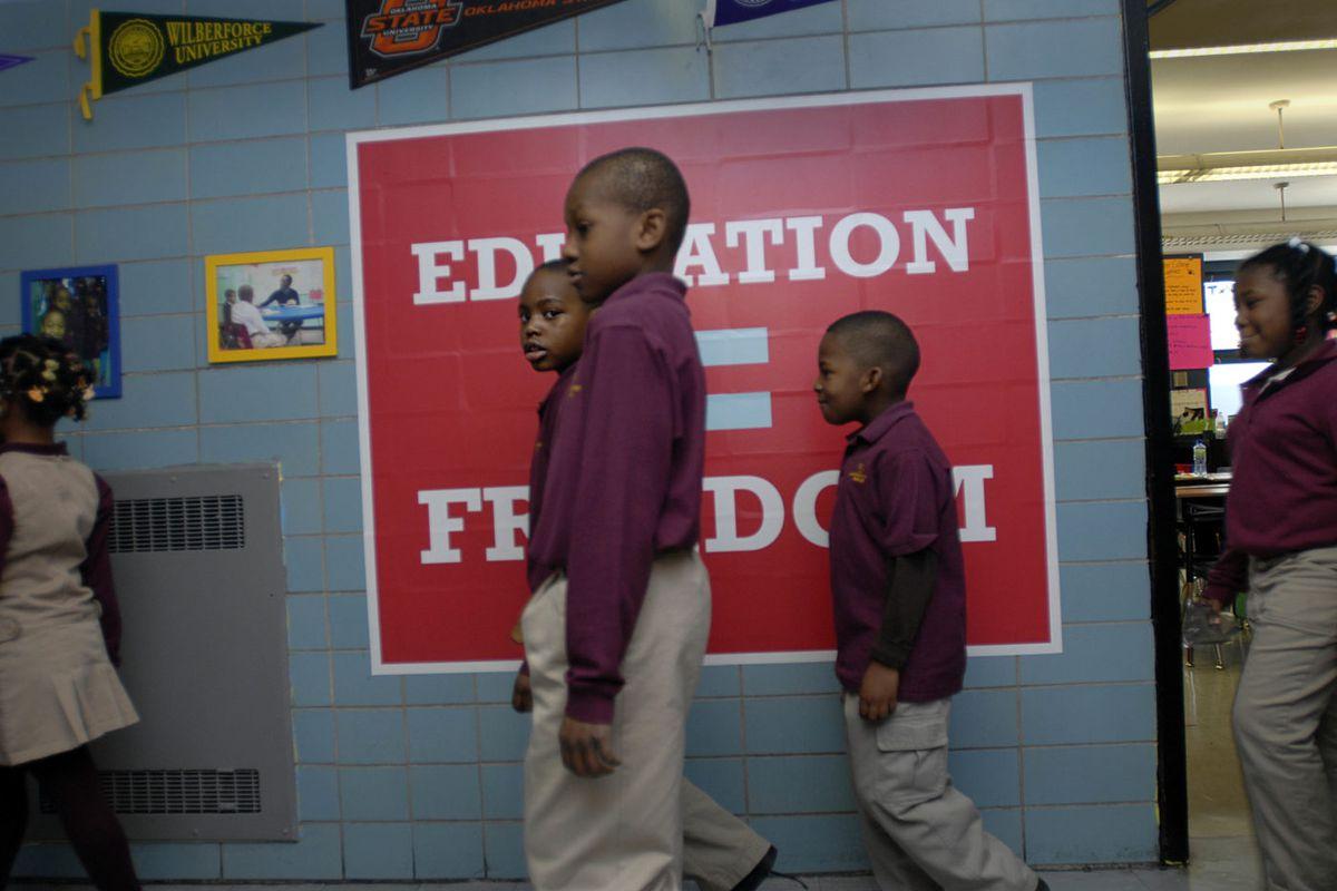 Achievement First Bushwick Elementary Academy in Brooklyn.
