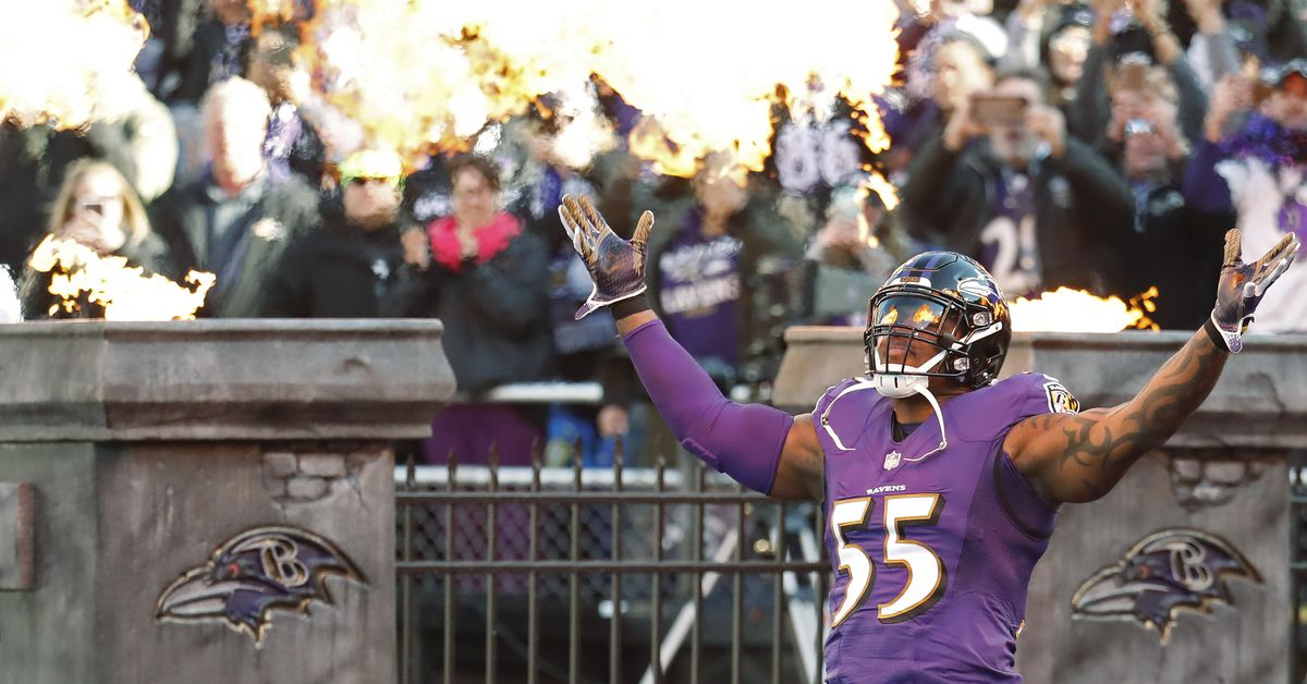 c139bfe7e29 Terrell Suggs return to play the Baltimore Ravens will bring mixed  emotions. - Baltimore Beatdown