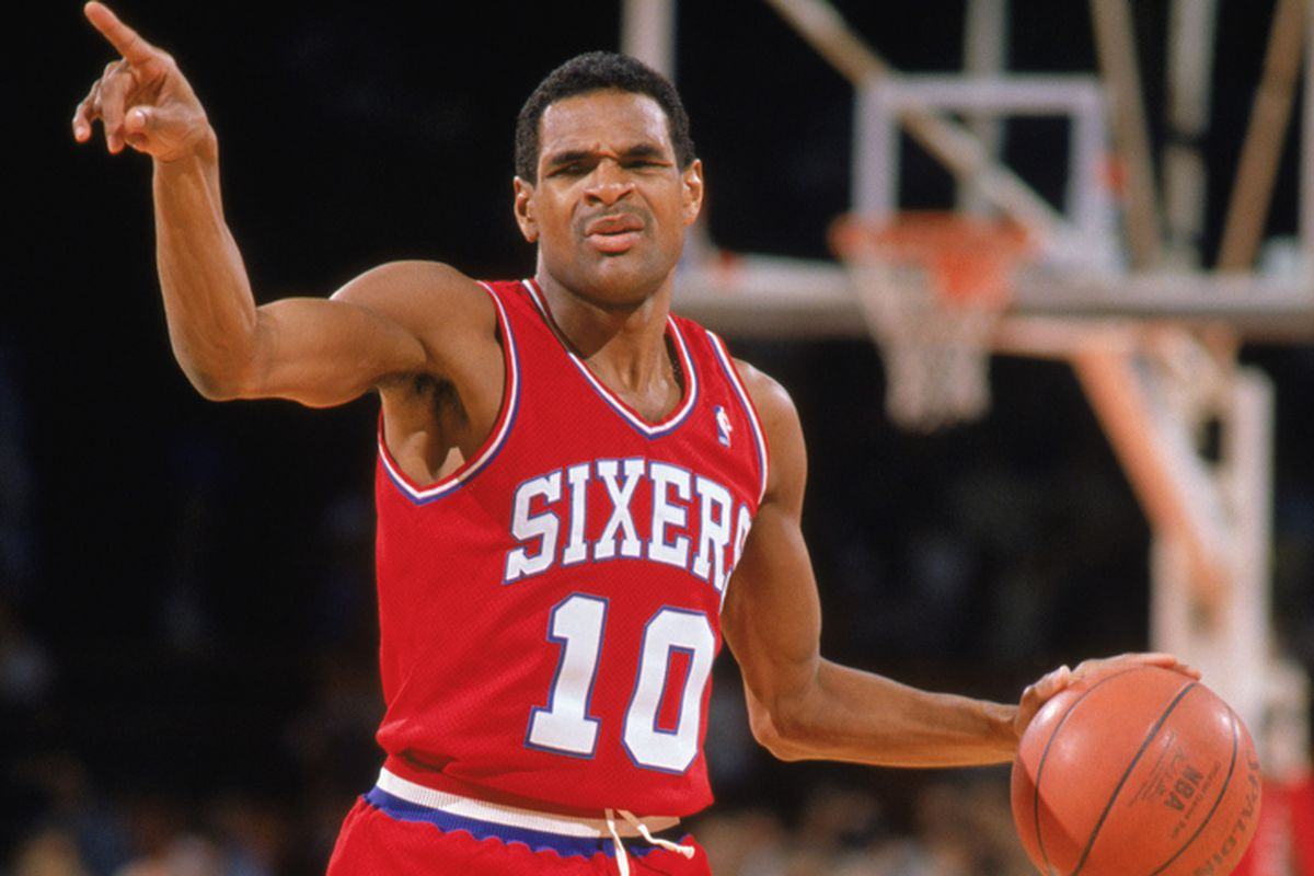 Mo Cheeks in 1989.