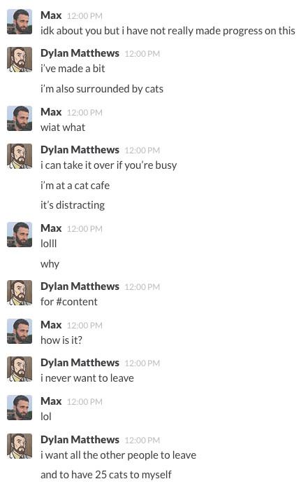 Slack exchange