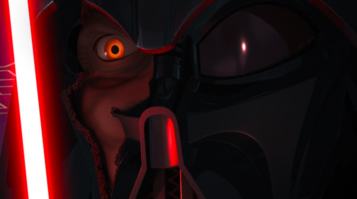"Vader in ""Twilight of the Apprentice"" in Rebels"