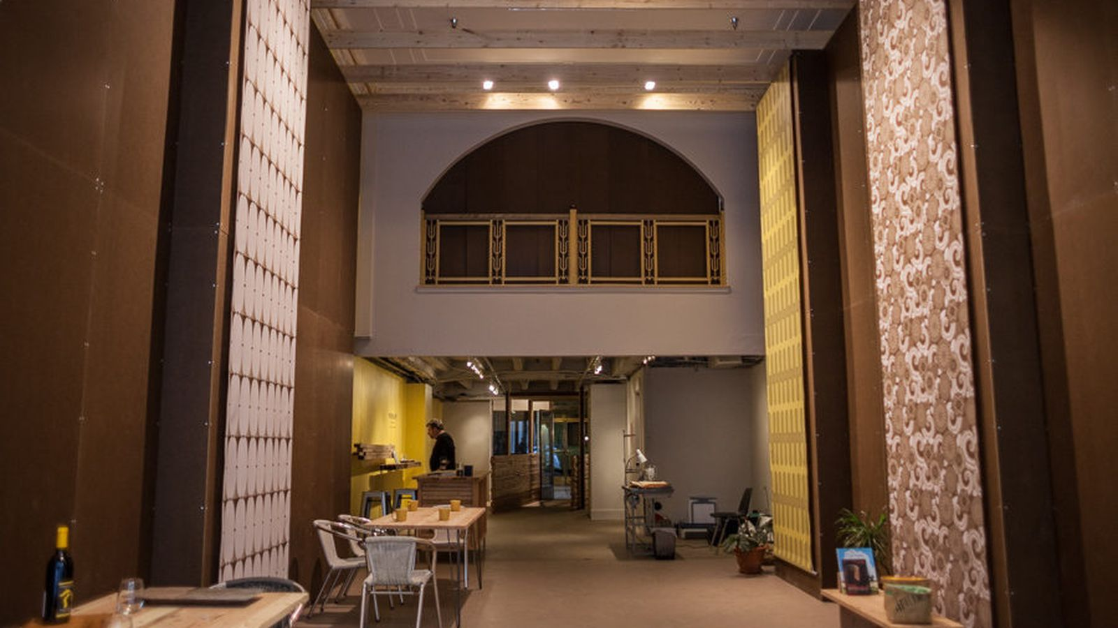 Now Open Workshop Finishes Storefront Remod At The Fisher