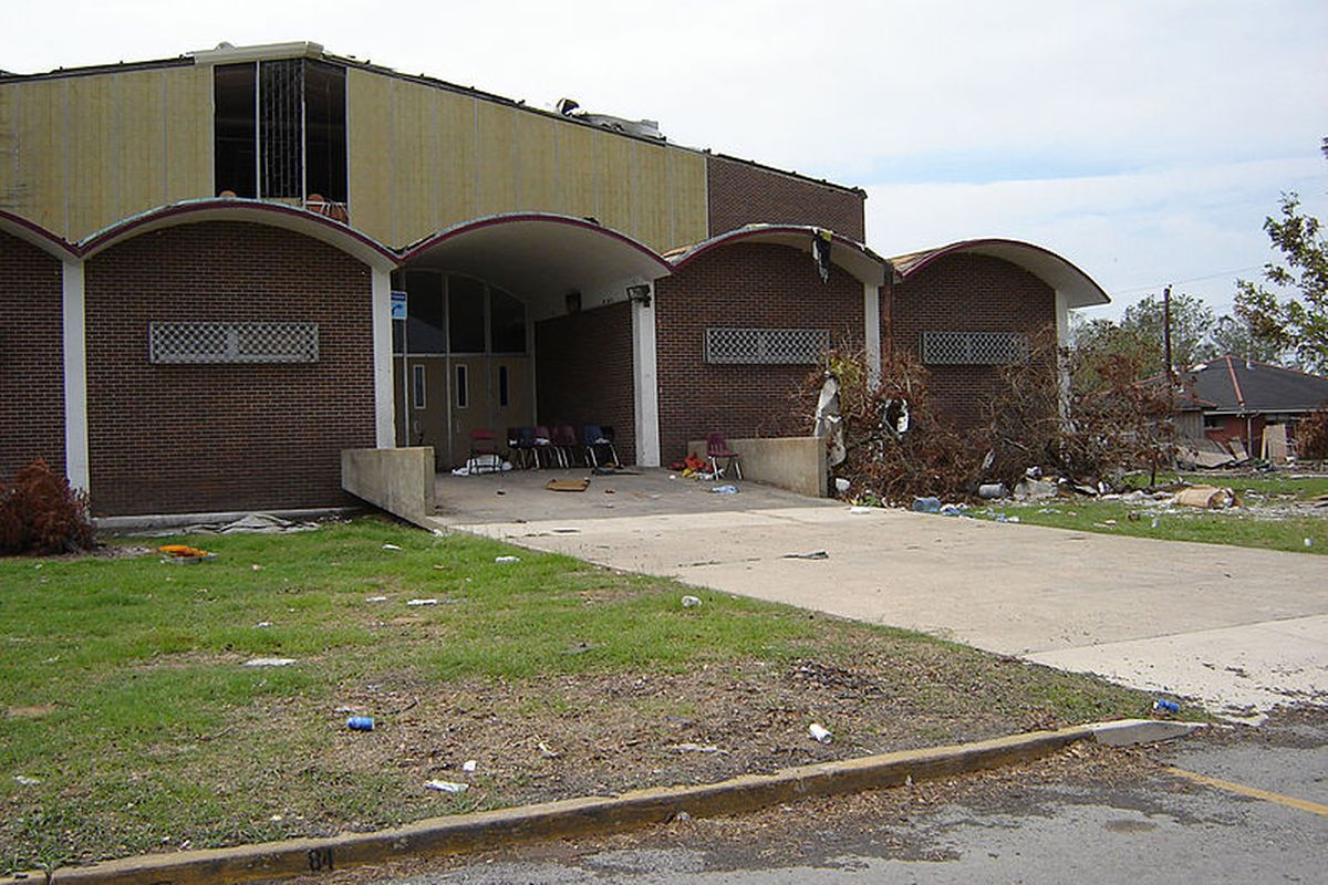 Chalmette High School in New Orleans was heavily damaged following Hurricane Katrina in 2005. Thanks in part to $53.7 million in FEMA funds, the school was repaired and underwent a state-of-art-expansion that included an athletic complex, more classrooms, a cafeteria and cultural arts center.