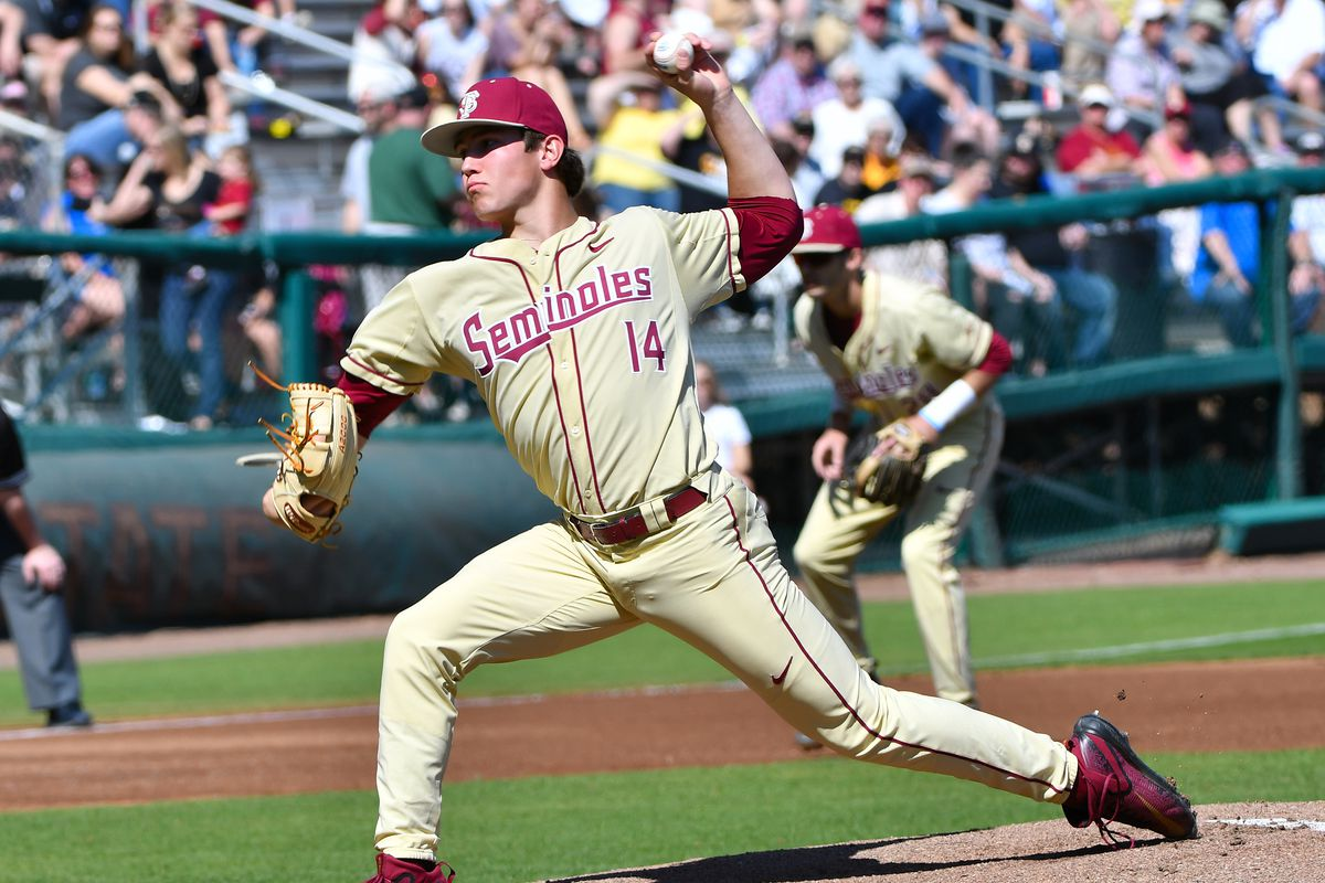 FSU Rides Lueck's Four RBI to Game One Victory